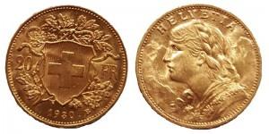 marengo oro svizzero
