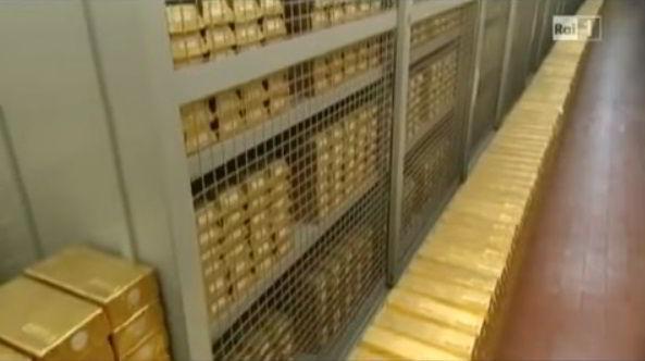 riserve oro banca d'italia