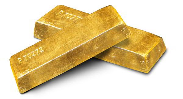 2 lingotti d'oro