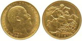 sterlina edoardo VII 1906