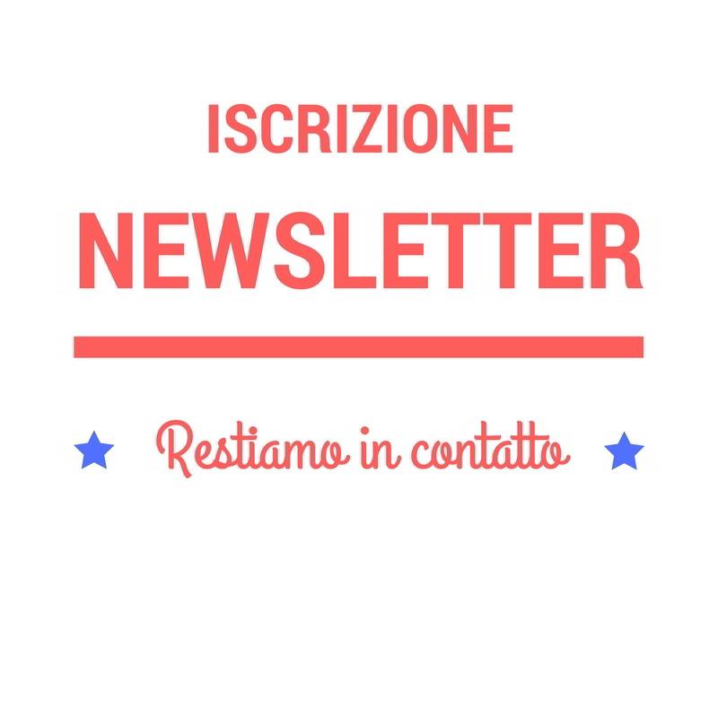 iscrizione newsletter oro