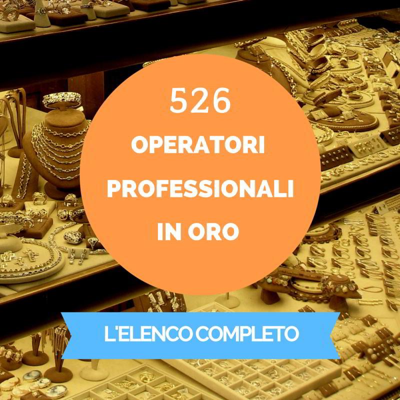 operatori professionali